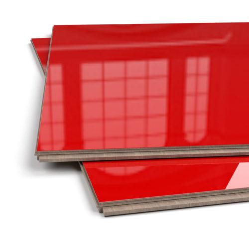 Czerwone panele –połysk